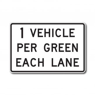 R10-29 1 Vehicle Per Green