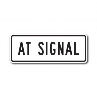R10-31p At Signal