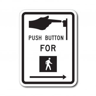 R10-3 Push Button For Walk Signal