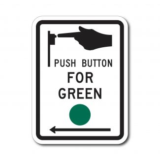 R10-4 Push Button For Green