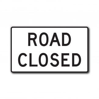 R11-2 Road Closed
