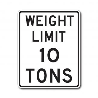 R12-1 Weight Limit XX Tons (Variable)