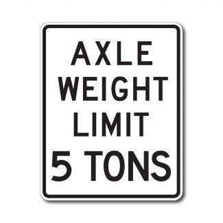 R12-2 Axel Limit XX Tons (Variable)