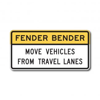 R16-4 Fender Bender Move Vehicles From Travel Lanes