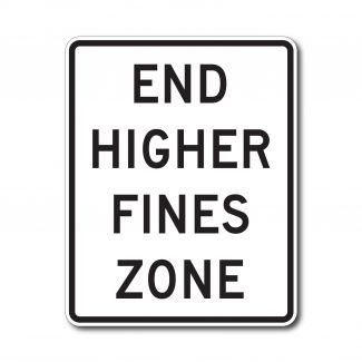 R2-11 End Higher Fines Zone