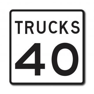 R2-2P Truck Speed Limit