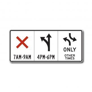 R3-9E Lane Control Sign