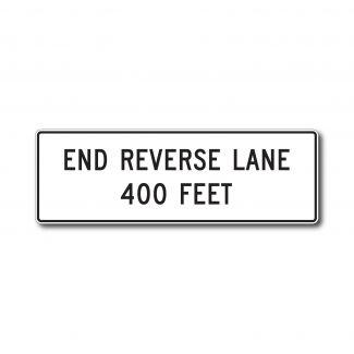 R3-9G End Reverse Lane