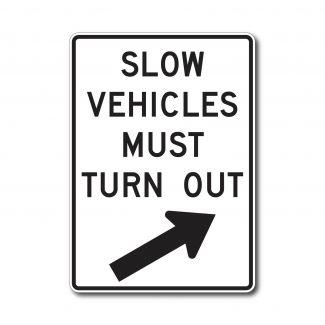 R4-14 Slow Vehicles