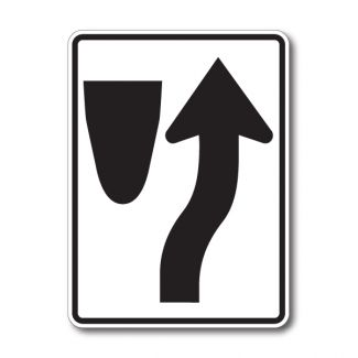 R4-7 Keep Right Symbol