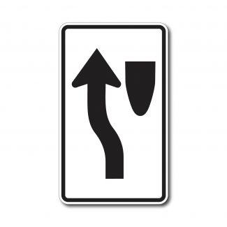 R4-8c Keep Left Arrow