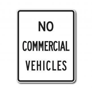 R5-4 Commercial Vehicles Excluded