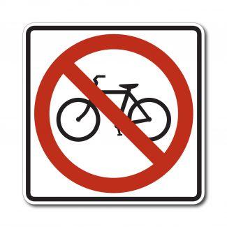 R5-6 No Bicycles Symbol