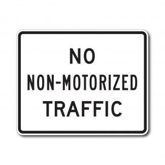 R5-7 No Non-Motored Traffic
