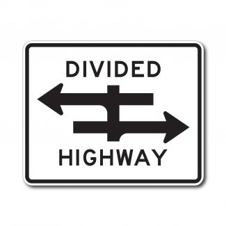 R6-3 Divided Highway