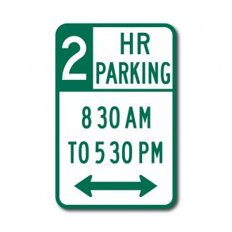 R7-108 2 Hour Parking
