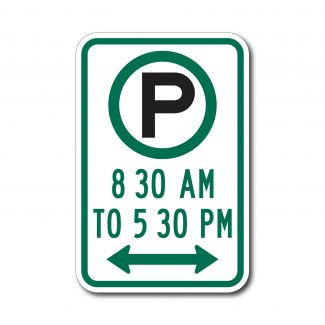 R7-23 Parking 8am to 5pm