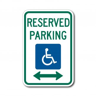 R7-8 ADA Reserved Parking