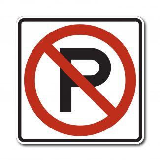 R8-3 No Parking Symbol