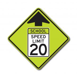S4-5 School Speed Limit Ahead