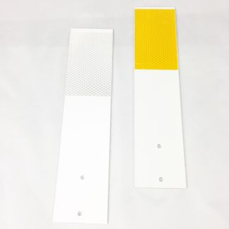Straight Guardrail Reflectors