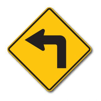 W1-1 Turn Arrow