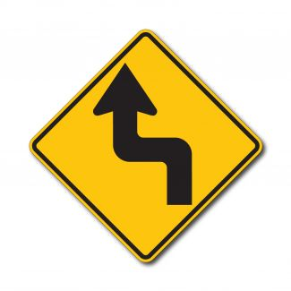 W1-3L/R Reverse Turn Arrow