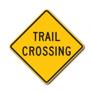 W11-15A Trail Crossing