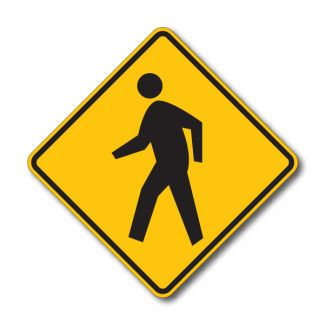 W11-2 Pedestrian Crossing Symbol