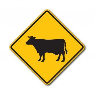 W11-4 Cattle Symbol
