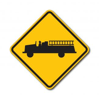W11-8 Emergency Vehicle