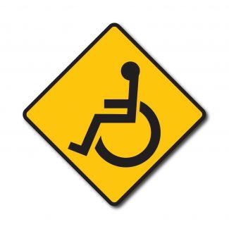 W11-9 Handicapped Symbol