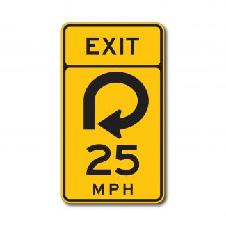 W13-6 Offramp Exit (Variable)