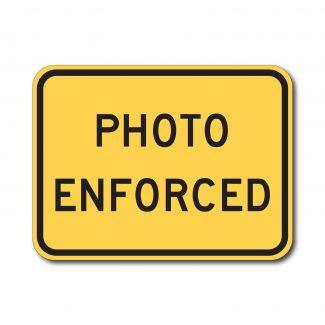 W16-10ap Photo Enforced