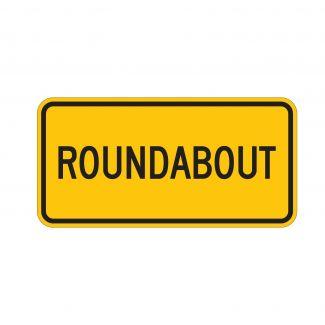 W16-17P Roundabout