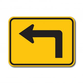 W16-6PL/R Advance Turn Arrow