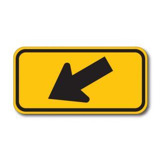 W16-7PL/R Diagonal Arrow
