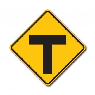 """W2-4 """"T"""" Intersection"""