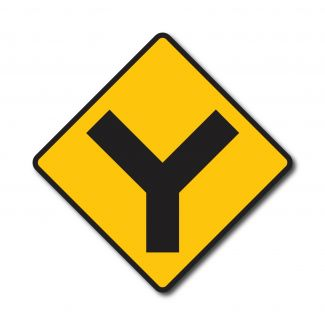 """W2-5 """"Y"""" Intersection"""
