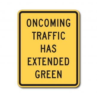 W25-1 Oncoming Traffic Has Extended Green