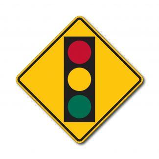 W3-3 Signal Ahead Symbol
