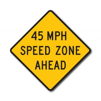 W3-5A Reduced Speed Ahead