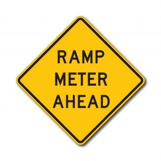 W3-7 Ramp Meter Ahead