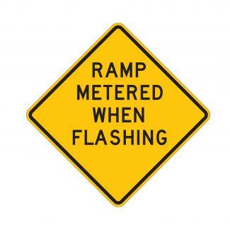 W3-8 Ramp Metered When Flashing