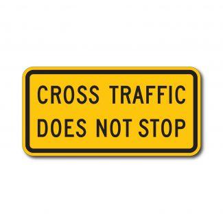 W4-4P Cross Traffic Does Not Stop