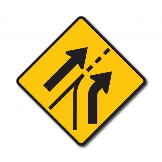 W4-6 Lane Added Right/Left