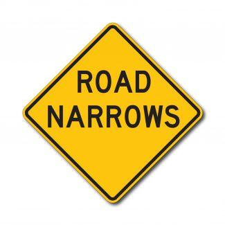 W5-1 Road Narrows