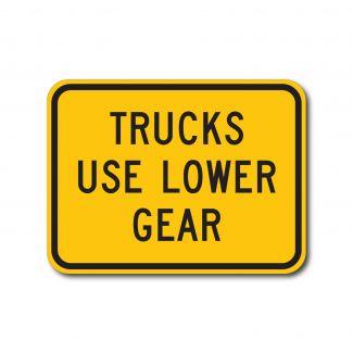 W7-2bp Trucks Use Lower Gear