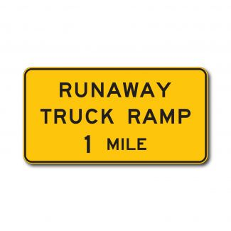 W7-4 Runaway Truck Ramp X Miles
