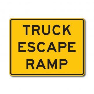 W7-4c Truck Escape Ramp